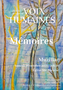 Concert Mémoires Muzillac